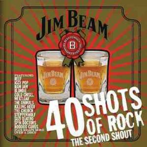 Cover - Jimmy Barnes: 40 Shots Of Rock: The Second Shout