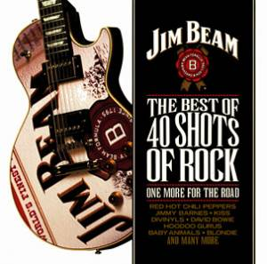Cover - Jimmy Barnes: 40 Shots Of Rock: One More For The Road