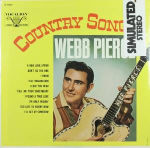 Cover - Webb Pierce: Country Songs