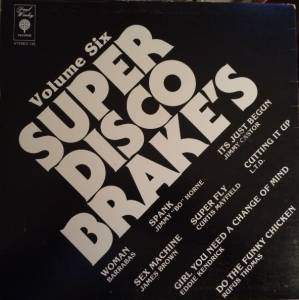 Super Disco Brake's Volume Six - Cover