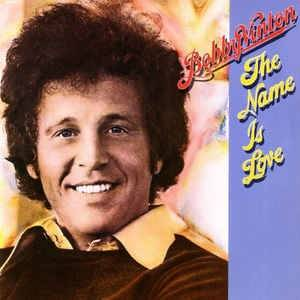Bobby Vinton: Name Is Love, The - Cover