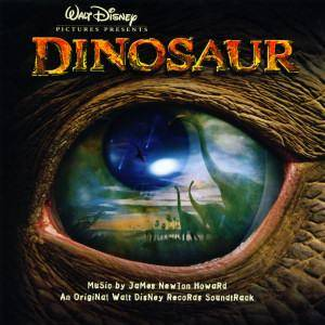 James Newton Howard: Dinosaurier - Cover