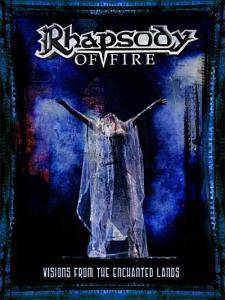 Rhapsody Of Fire: Visions From The Enchanted Lands - Cover