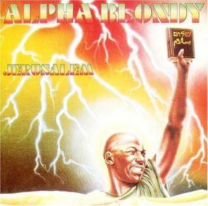 Cover - Alpha Blondy: Jerusalem