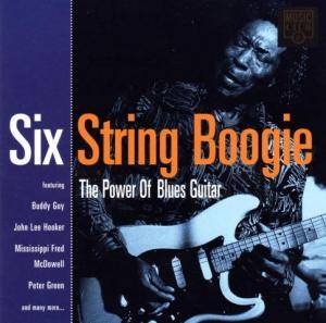 Cover - Todd Sharpville: Six String Boogie - The Power Of Blues Guitar