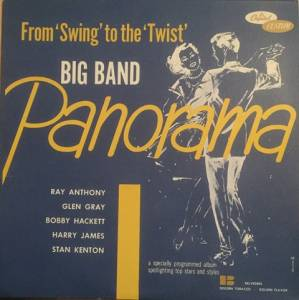 Cover - Ray Anthony And His Bookends: Big Band Panorama