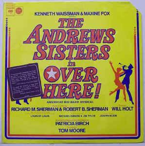 Cover - Andrews Sisters, The: Over Here!