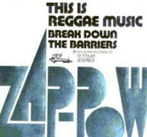 Cover - Zap Pow: This Is Raggae Music