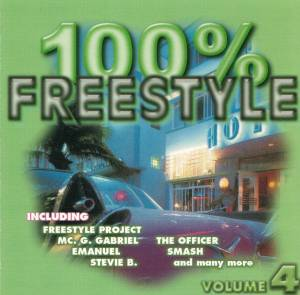 Cover - Freestyle Project: 100% Freestyle Volume 4