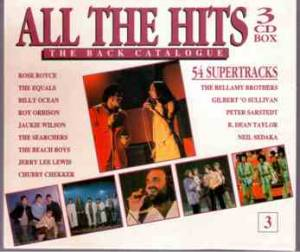All The Hits - The Back Catalogue 3 - Cover