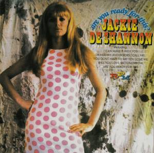 Cover - Jackie DeShannon: Are You Ready For This?
