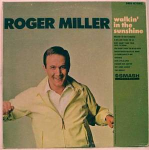 Roger Miller: Walkin' In The Sunshine - Cover