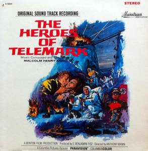 Cover - Malcolm Arnold: Heroes Of Telemark: Original Sound Track Recording, The