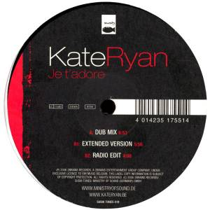 "Kate Ryan: Je T'adore (12"") - Bild 1"