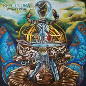 Sepultura: Machine Messiah - Cover
