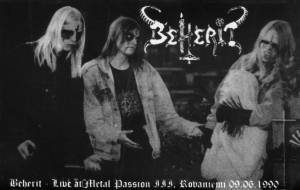 Beherit: Live At Metal Passion III, Rovaniemi 09.06.1990 (Tape) - Bild 1