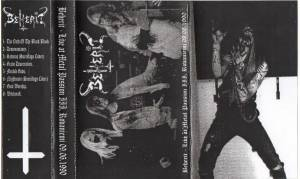 Beherit: Live At Metal Passion III, Rovaniemi 09.06.1990 (Tape) - Bild 2