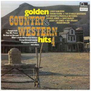 Golden Country & Western Hits 4 - Cover