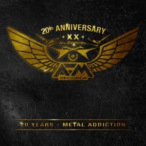 Cover - Alex Beyrodt's Voodoo Circle: AFM Records - 20 Years - Metal Addiction