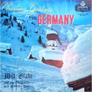 Cover - Will Glahé & Sein Orchester: Christmas Greetings From Germany