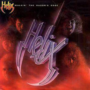 Helix: Walkin' The Razor's Edge (LP) - Bild 1