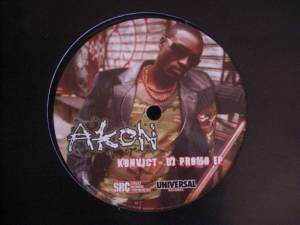 Cover - Akon: Konvicted DJ Promo EP