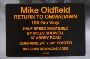 Mike Oldfield: Return To Ommadawn (LP) - Bild 5