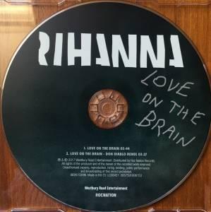 Love On The Brain Single Cd 2017 Von Rihanna
