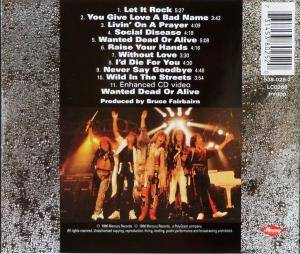 Bon Jovi: Slippery When Wet (CD) - Bild 2