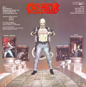 Kreator: Terrible Certainty (LP) - Bild 2