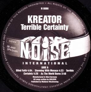 Kreator: Terrible Certainty (LP) - Bild 3