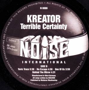Kreator: Terrible Certainty (LP) - Bild 4