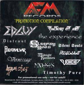 AFM Records - Promotion Compilation - Cover