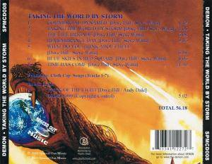 Demon: Taking The World By Storm (CD) - Bild 2