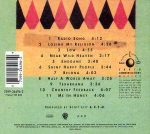 R.E.M.: Out Of Time (CD) - Bild 4