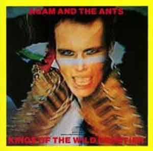 Adam & The Ants: Kings Of The Wild Frontier - Cover