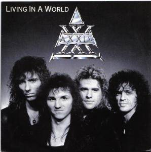 Axxis: Living In A World - Cover