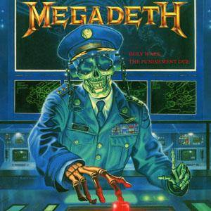Megadeth: Holy Wars... The Punishment Due - Cover