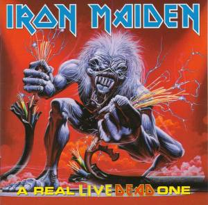 Iron Maiden: Real Live Dead One, A - Cover