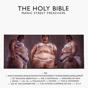 Manic Street Preachers: Holy Bible, The - Cover