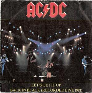 AC/DC, Chic: Let's Get It Up - Cover