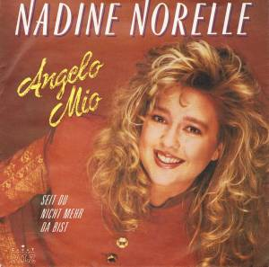 Cover - Nadine Norell: Angelo Mio