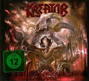 Kreator: Gods Of Violence (CD + DVD) - Bild 1