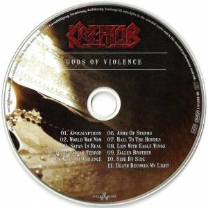 Kreator: Gods Of Violence (CD + DVD) - Bild 4