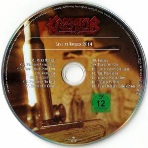 Kreator: Gods Of Violence (CD + DVD) - Bild 5