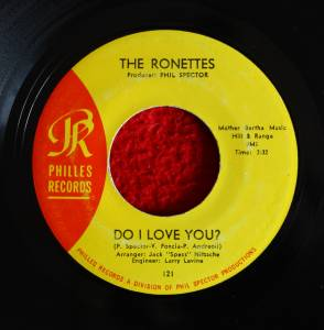 Cover - Ronettes, The: Do I Love You