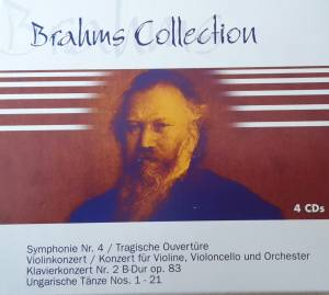 Johannes Brahms: Collection - Cover