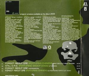 Eminem & Dr. Dre: Forgot About Dre (Single-CD) - Bild 2