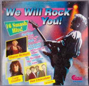 Cover - Q For F: We Will Rock You - 16 Smash Hits