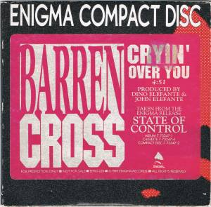 Cover - Barren Cross: Cryin' Over You